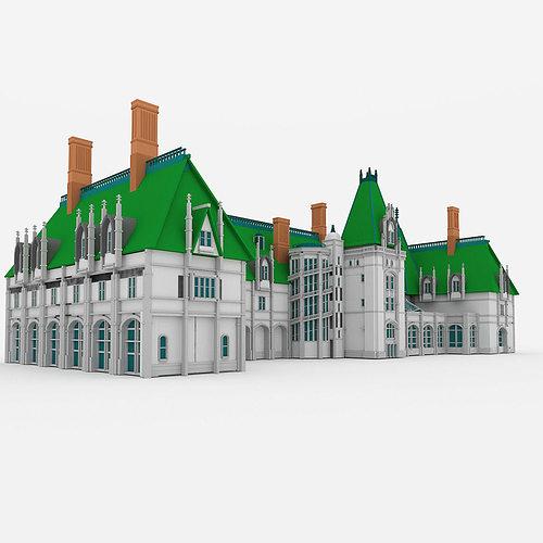 Asheville Model Home Interior Design 1264f: 3D Model Biltmore House