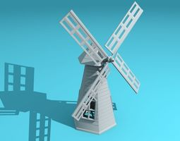 windmill 3d print model
