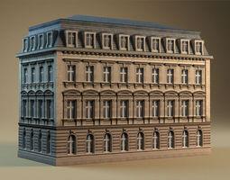 European building 01 3D model