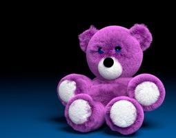 Simply Pink bear 3D model