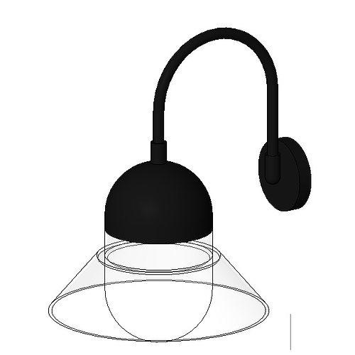 lampe murale applique 3d model cgtrader. Black Bedroom Furniture Sets. Home Design Ideas