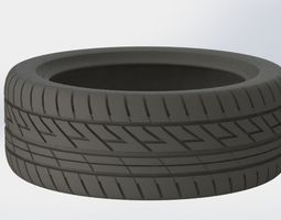 real size tire 3d printable model