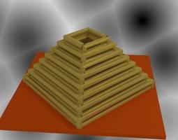 3D print model Pyramid Vase