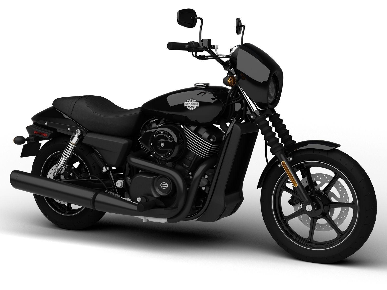 2015 Harley Street 750 >> Harley-Davidson Street 750 2015 3D Model MAX 3DS FBX C4D DXF MTL | CGTrader.com