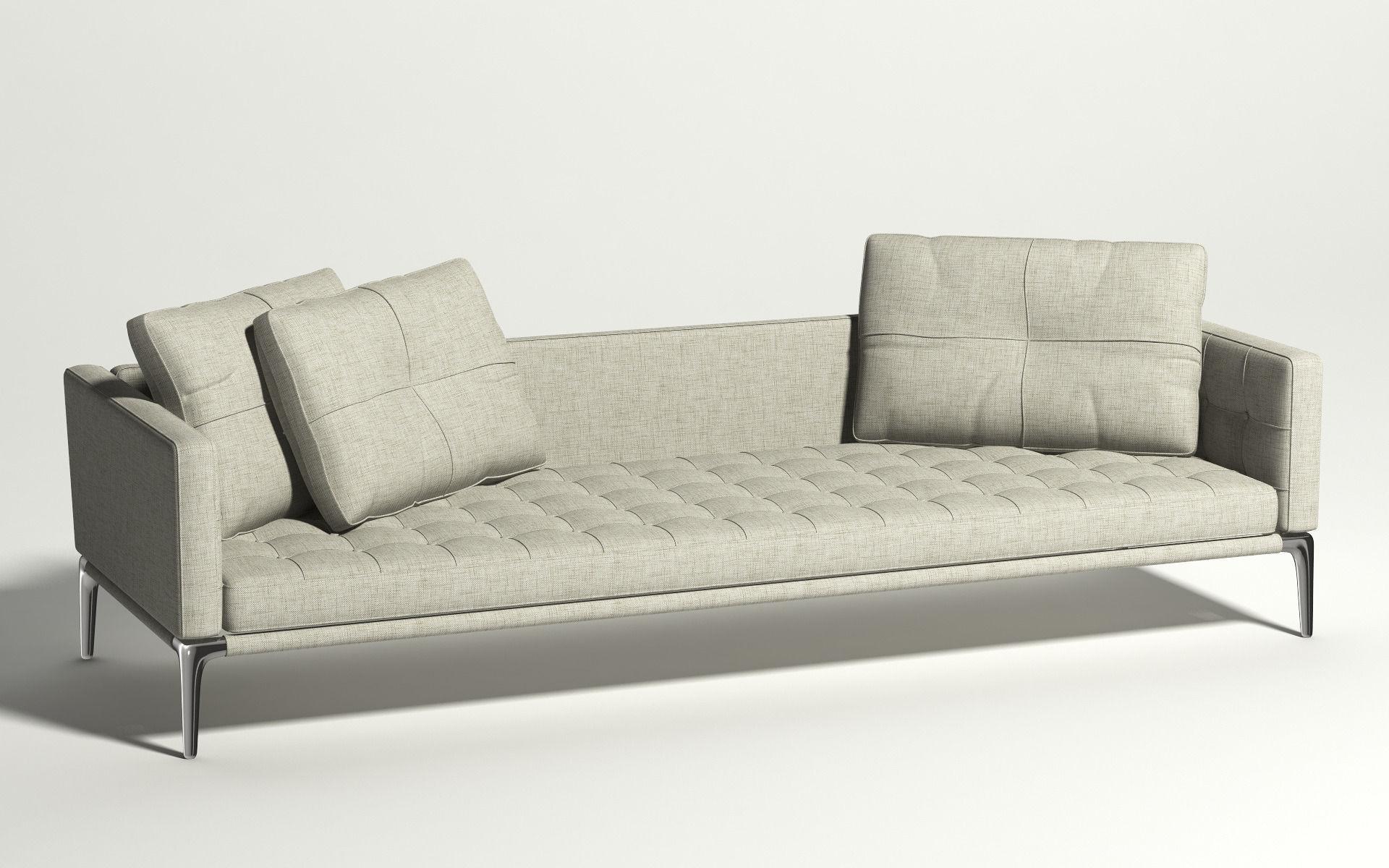 243 Volage Three Seater Sofa Cassina 3D model