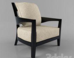 armchair 3D lounge-chair