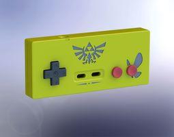 printable zelda-style nes controller