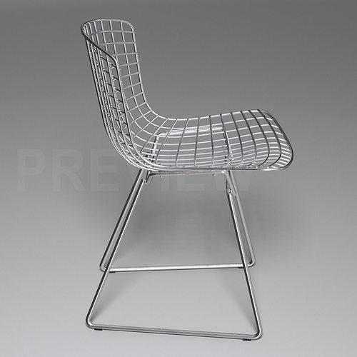 Bertoia Side Chair   Knoll 3D Model