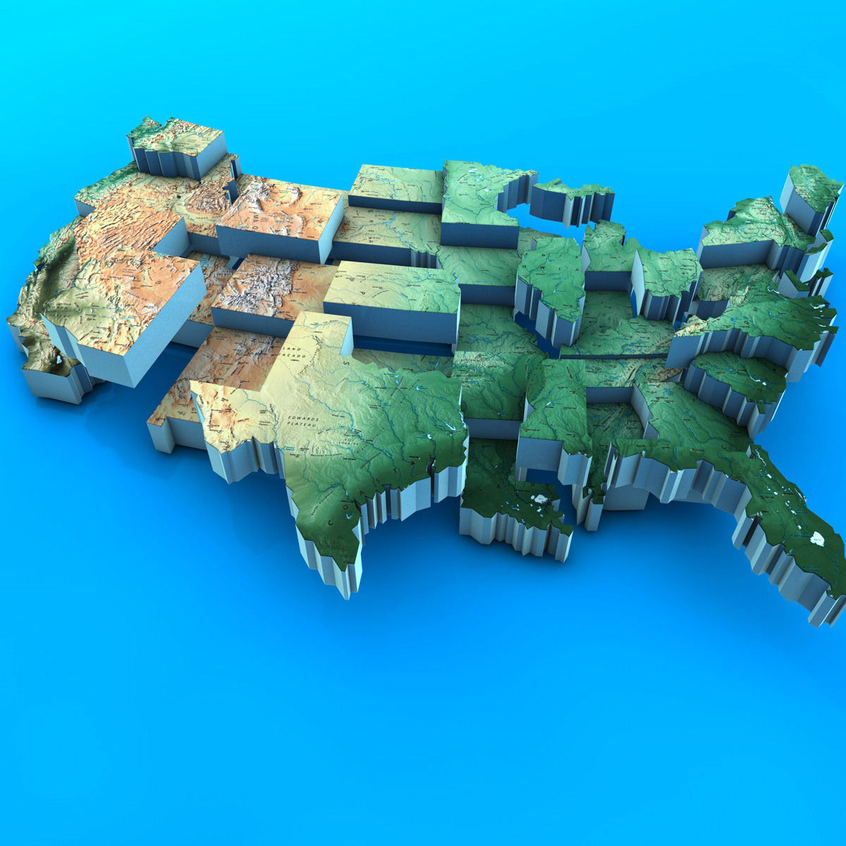 Usa Map 3d – [mapusa.ticketsbox.us]