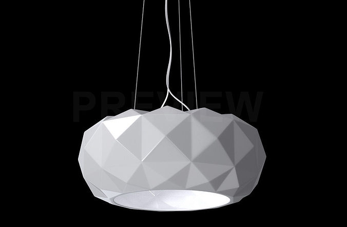 murano due lighting. Deluxe 50 S Suspension Lamp - Murano Due 3D Model Lighting /