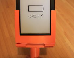 a kindle support 3d printable model