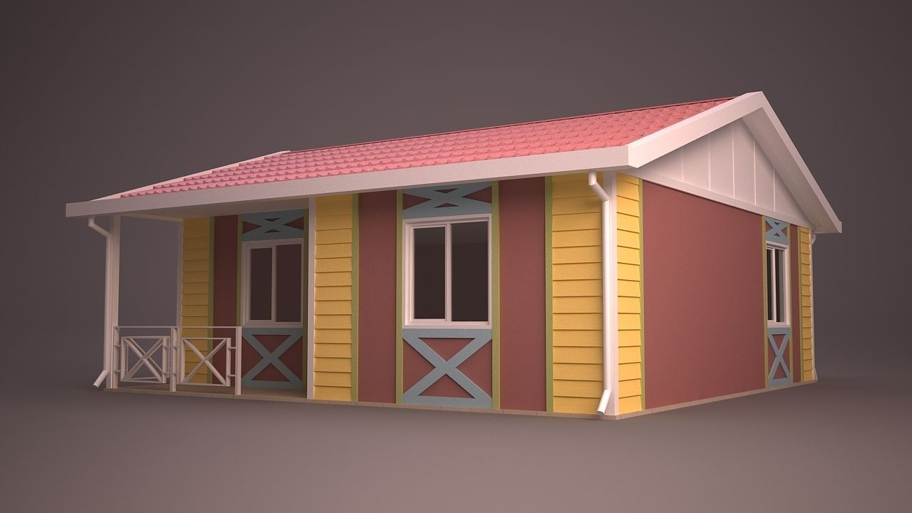Home 22 3d model max obj 3ds fbx ma mb dwg for Home 3d model
