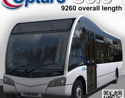3D model Optare Solo Bus 9960 Length