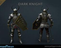 Heroes - Dark Knight 3D model