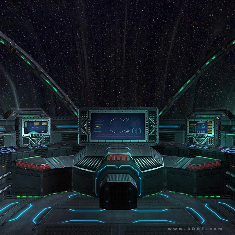 sci fi spacecraft cockpit single person - photo #23