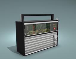 VEF 206 Radio 3D asset