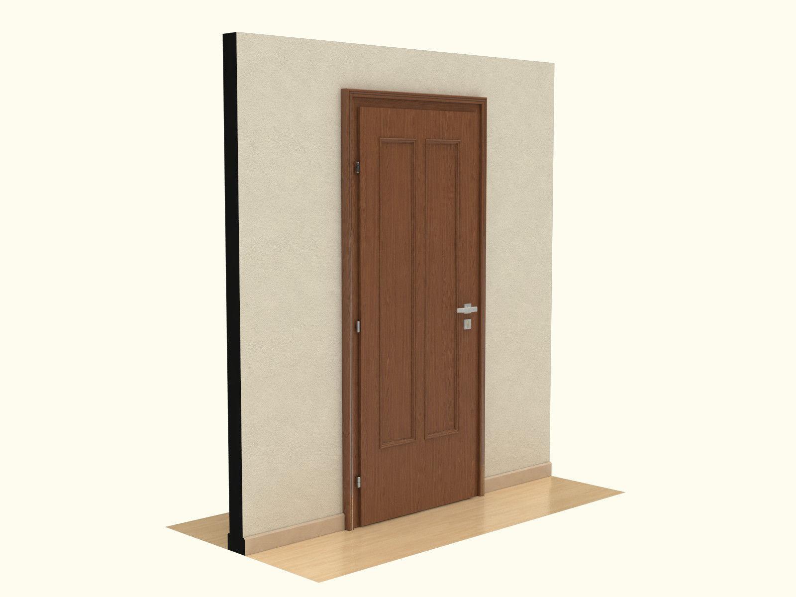 3d door door 3d model for Door 3d model