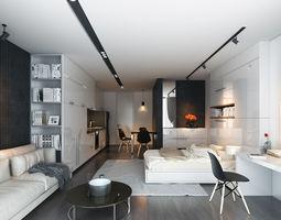 3d scene apartment ht