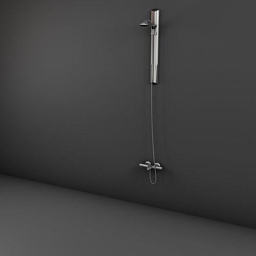 handle shower 3d model max obj mtl 3ds fbx ma mb 1