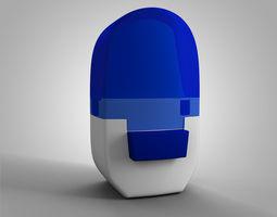 3D model Alenia Asthma Inhaler