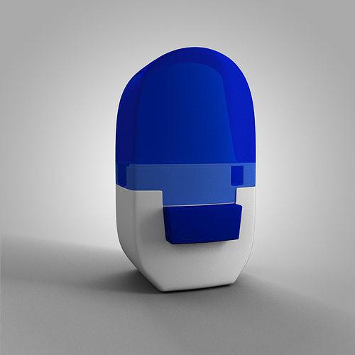 alenia asthma inhaler 3d model max obj 3ds fbx mtl 1