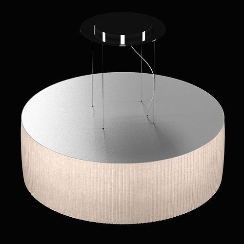 round pendant lighting. Tessuti Round 4 Light Pendant From Masiero 3d Model Max Obj 3ds Fbx Mtl Lighting T