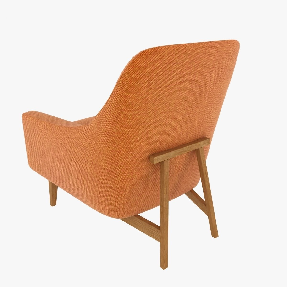 ... Ralph Pucci Jens Risom Chair 3d Model Max Obj 3ds Fbx Mtl 4 ...