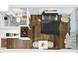 barack 3d floor plan