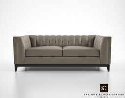 3d model the sofa and chair company alexander sofa