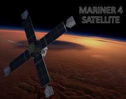 MARINER SATELLITE 3D model