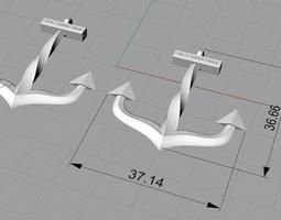 Anchor Bracelet 3D printable model