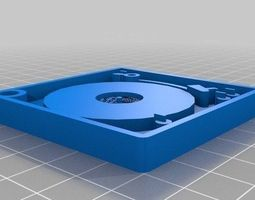 Porta chaves Vinil 3D printable model