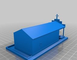 3D printable model Capela Barraquinhas