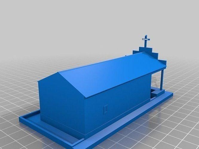 capela barraquinhas 3d model stl 1