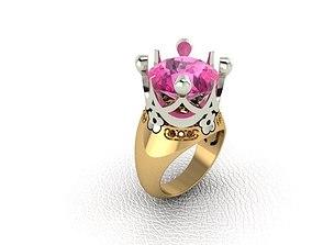 Pas-Bru 3D print model diamond-ring
