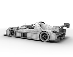 radical sr3 rs 3d model