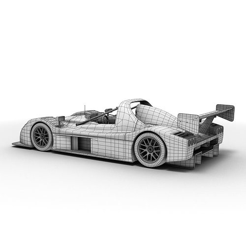 radical sr3 rs 3d model max obj 3ds lwo lw lws ma mb mtl 1