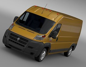 Ram Promaster Cargo 2500 HR 159WB 2015 3D
