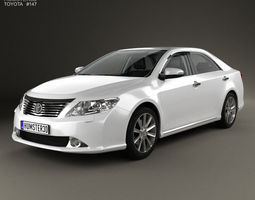 3D Toyota Camry with HQ interior 2011