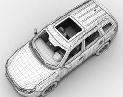 3D Subaru Forester 2010