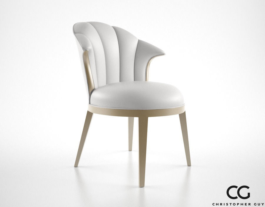 Christopher Guy Josephine Chair 3d Model Max Obj Fbx Mtl 1 ...