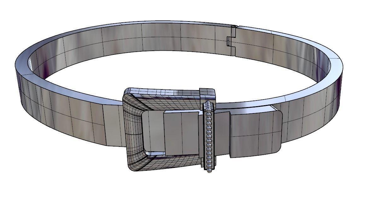 Bracelet Belt 3d Model 3d Printable Stl Cgtrader Com