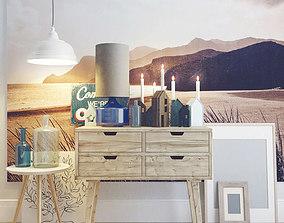 3D Set for interior decoration