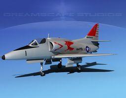 Douglas A-4G Skyhawk USMC 3D