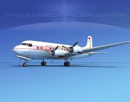 Douglas DC-6 Civil Air Transport 3D