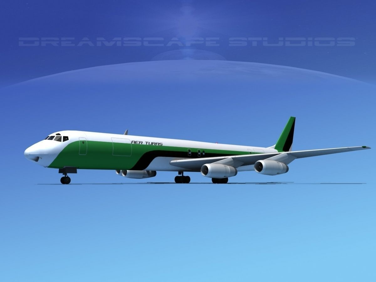 Douglas DC-8-63F Affretair
