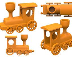 train 3d print model