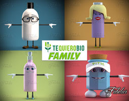 3D model Tequierobio Family
