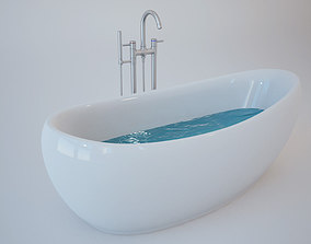 3D model Bath Tub bathroom