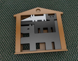 Puzzle Game - Peaceful Coexistence 3D print model
